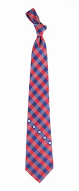 New York Giants Check Poly Necktie