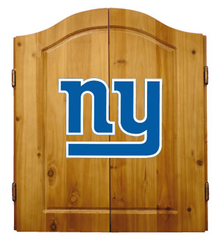 New York Giants Complete Dart Cabinet