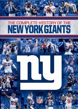 New York Giants Complete History of the New York Giants  DVD