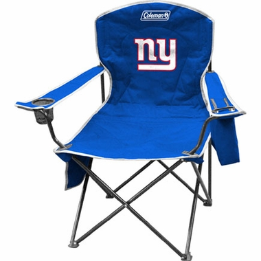 New York Giants Cooler Quad Tailgate Chair