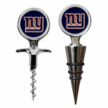 New York Giants Corkscrew and Stopper Gift Set