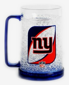New York Giants Crystal Freezer Mug