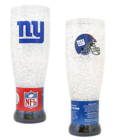New York Giants Crystal Pilsner Glass