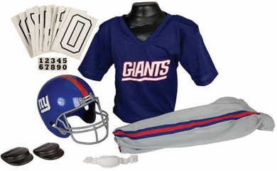 New York Giants Deluxe Youth Uniform Set