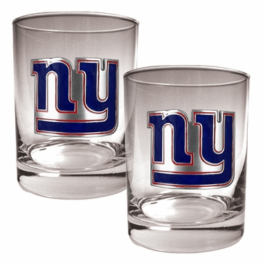 New York Giants Double Rocks Set