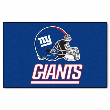 New York Giants Economy 5 Foot x 8 Foot Mat