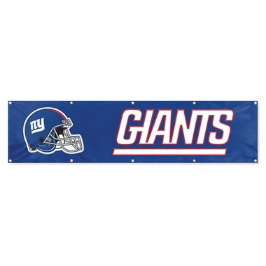 New York Giants Eight Foot Banner