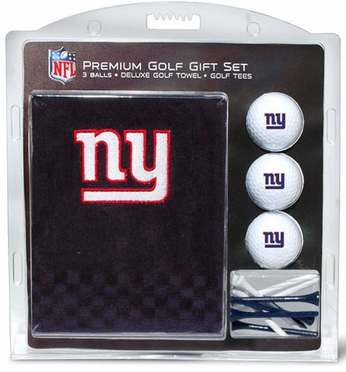 New York Giants Embroidered Towel Gift Set