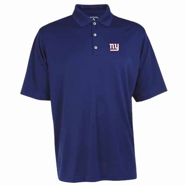New York Giants Mens Exceed Polo (Team Color: Royal)