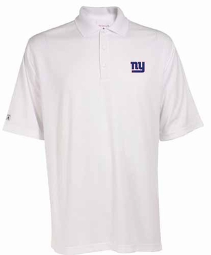 New York Giants Mens Exceed Polo (Color: White)