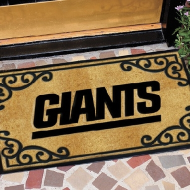 New York Giants Exterior Door Mat