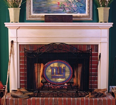 New York Giants Fireplace Screen
