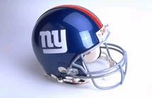 New York Giants Full Sized Replica Helmet