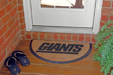 New York Giants Half Moon Door Mat