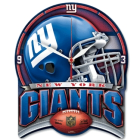 New York Giants High Definition Wall Clock