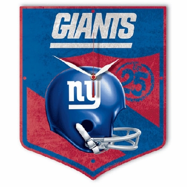 New York Giants High Definition Wall Clock (Vintage)