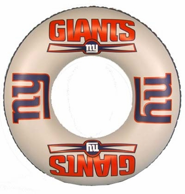 New York Giants Inflatable Inner Tube