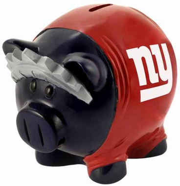 New York Giants Large Thematic Piggy Bank