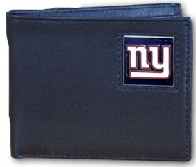New York Giants Leather Bifold Wallet