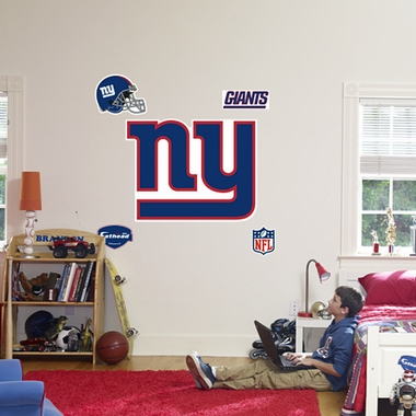 New York Giants Logo Fathead Wall Graphic