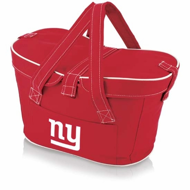New York Giants Mercado Picnic Basket (Red)