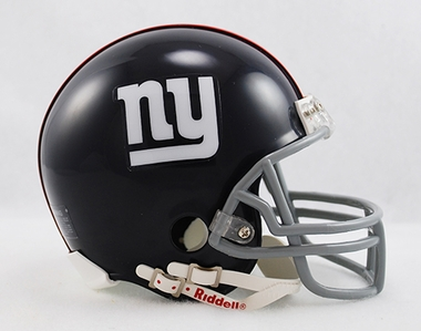 New York Giants Mini Replica Throwback Football Helmet