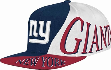 New York Giants Mitchell & Ness The Skew Retro Vintage Snap Back Hat