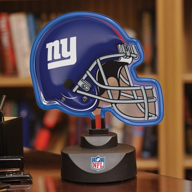 New York Giants Neon Display Helmet