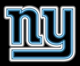 New York Giants Neon Light