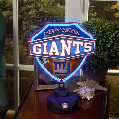 New York Giants Neon Shield Table Lamp