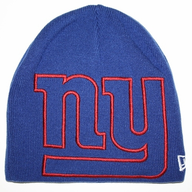 New York Giants New Era Big One Too Cuffless Knit Hat