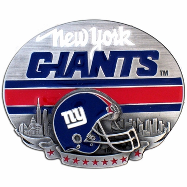 New York Giants Enameled Belt Buckle