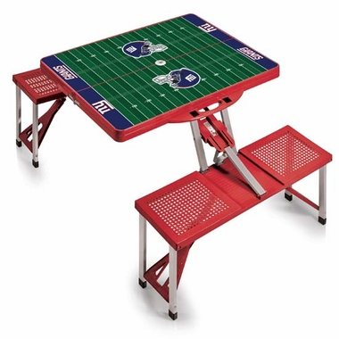 New York Giants Picnic Table Sport (Red)
