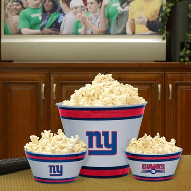 New York Giants Plastic Serving Set