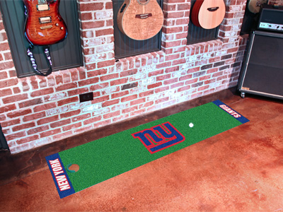 New York Giants Putting Green Mat