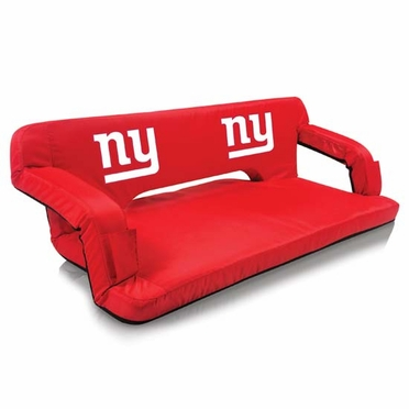 New York Giants Reflex Travel Couch (Red)