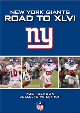 New York Giants ROAD TO XLVI DVD