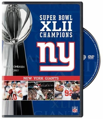 New York Giants S.B. 42 DVD