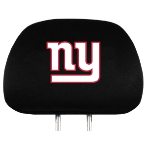 New York Giants Set of Headrest Covers