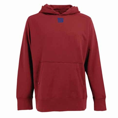 New York Giants Mens Signature Hooded Sweatshirt (Alternate Color: Red)