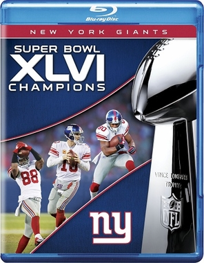 New York Giants Super Bowl XLVI Champs Blu-Ray DVD