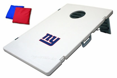 New York Giants Tailgate Toss 2.0 Cornhole Beanbag Game