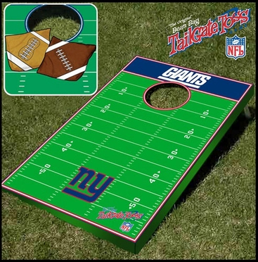 New York Giants Tailgate Toss Cornhole Beanbag Game