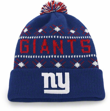 New York Giants Tip Off Cuffed Knit Hat