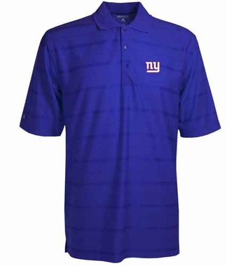 New York Giants Mens Tonal Polo (Team Color: Royal)