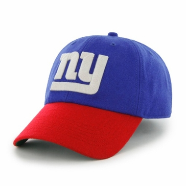 New York Giants Two Tone Brooksby Melton Wool Adjustable Hat