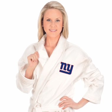 New York Giants UNISEX Bath Robe (White)