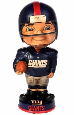 New York Giants Vintage Retro Bobble Head
