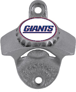 New York Giants Wall Mount Bottle Opener