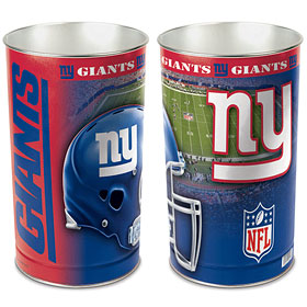 New York Giants Waste Paper Basket